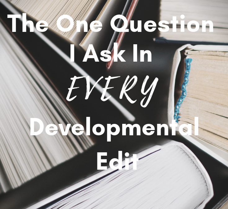 The One Question I Ask In EVERY Developmental Edit